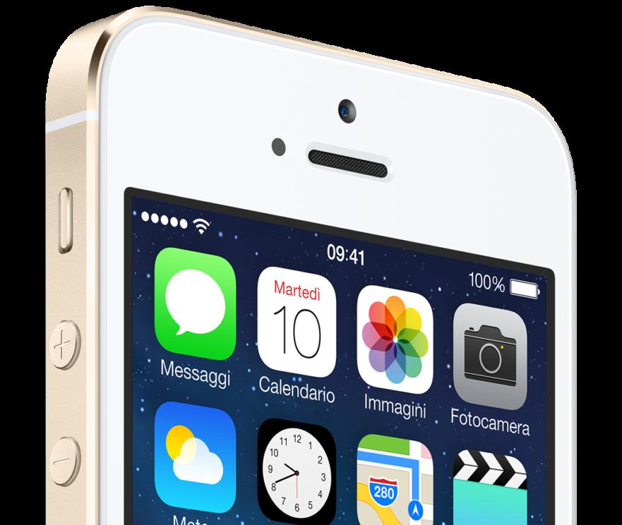 iPhone 5S - iOS 7
