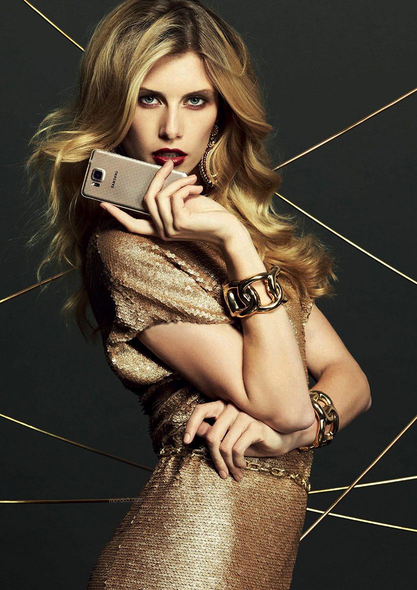 Samsung Galaxy Alpha GOLD AFIP