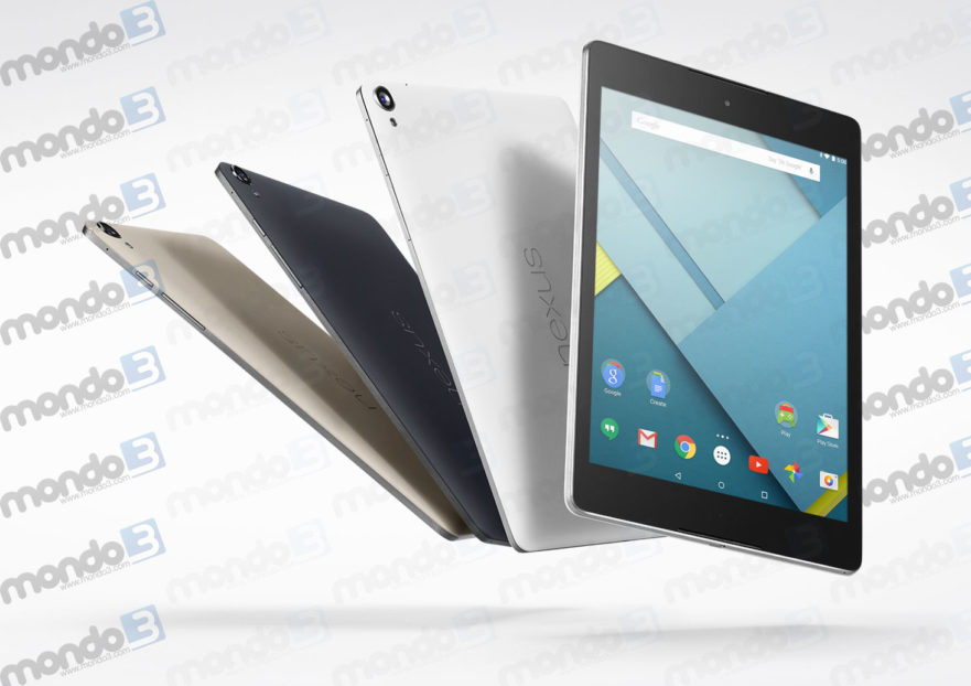 Da HTC e Google Nexus 9