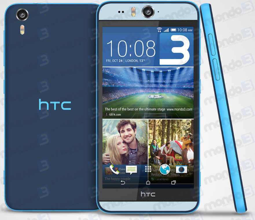 HTC Desire EYE Matt Blue
