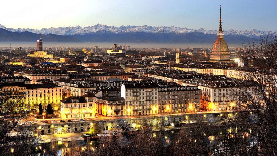 Torino: panorama con la Mole Antonelliana