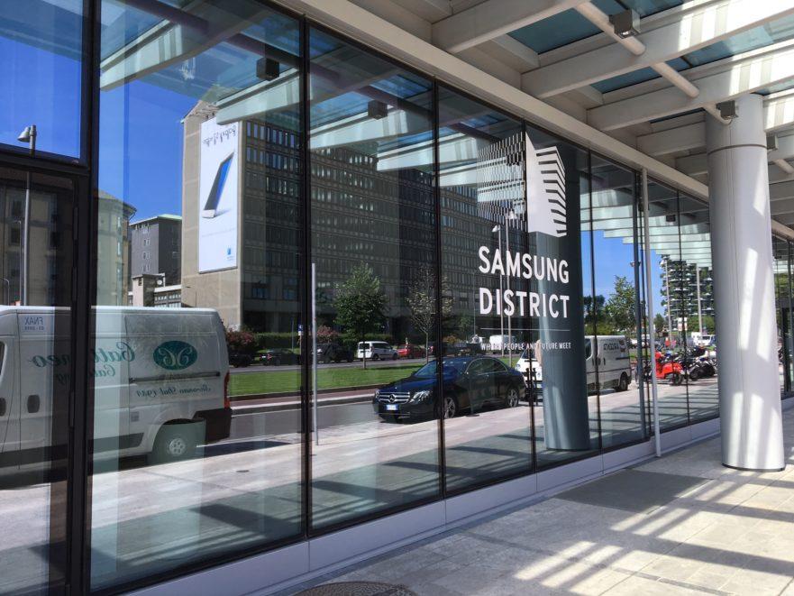 Rinnovo partnership samsung e juventus insieme per for Samsung arena milano