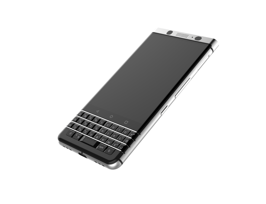 New BlackBerry Smartphone-Front View