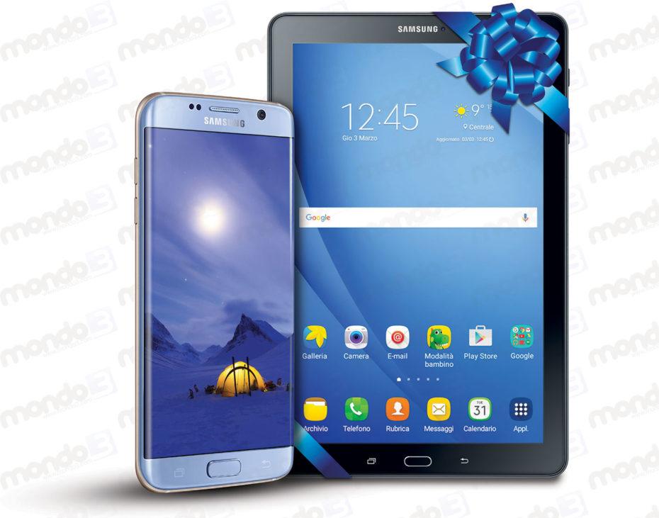 """Concorso """"Con Galaxy S7 ricevi un Samsung Galaxy Tab A"""" febbraio 2017"""