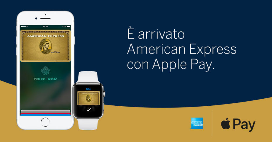 American Express con Apple Pay