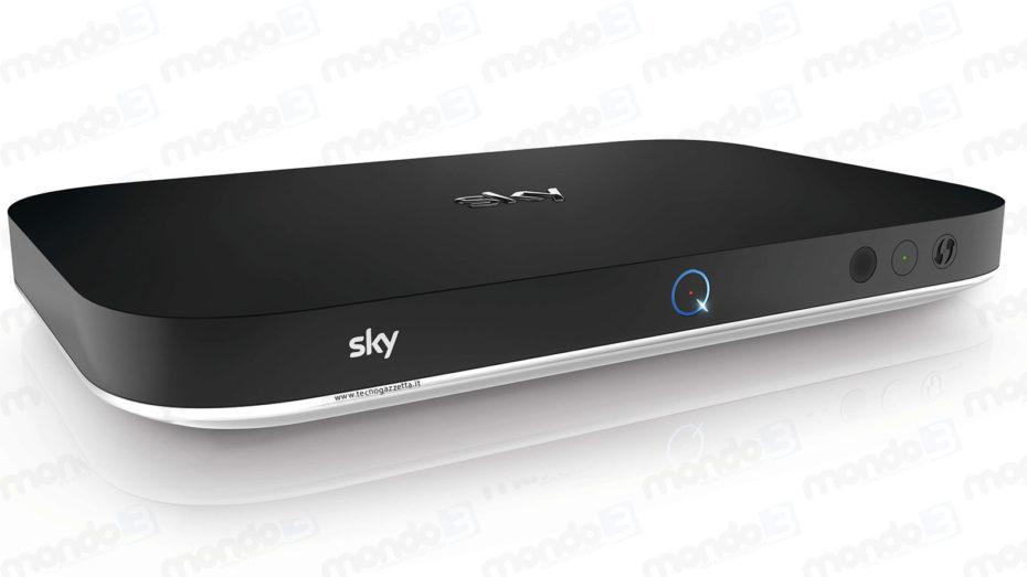 Il nuovo decoder Sky Q