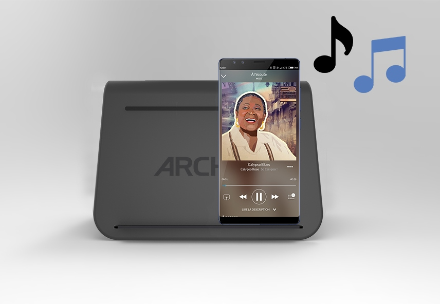ARCHOS Universal Wireless Charge & Play