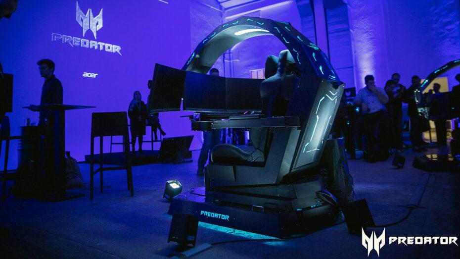 Acer Predator Thronos alla Predator Night di Milano