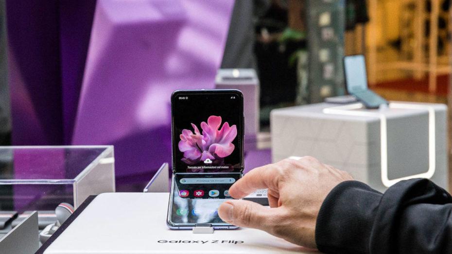 Pop Up Store Samsung Galaxy Z Flip Milano TecnoGazzetta