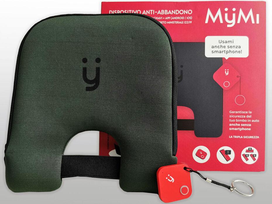 Dispositivo antiabbandono per bimbi in auto MyMi by Bluon